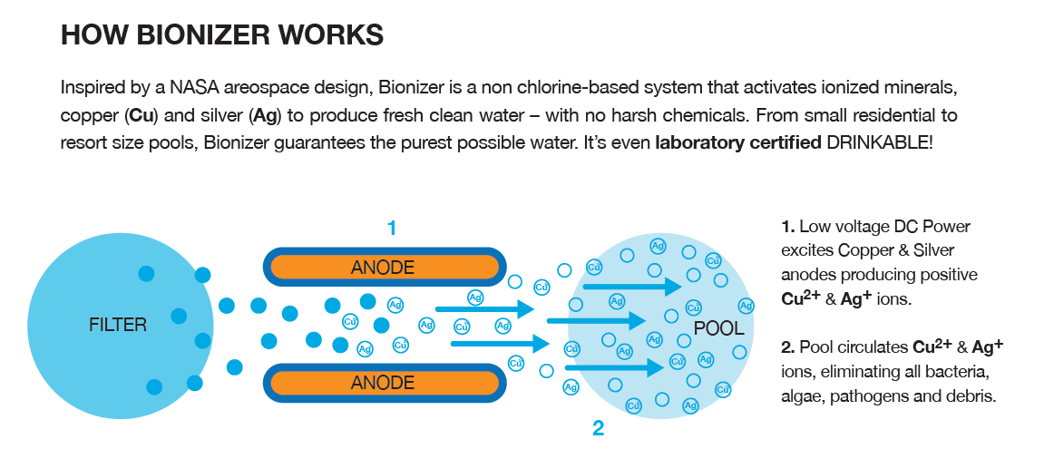 How a Bionizer Work diagram